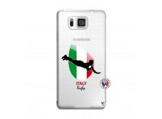 Coque Samsung Galaxy Alpha Coupe du Monde Rugby-Italy