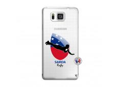 Coque Samsung Galaxy Alpha Coupe du Monde Rugby-Samoa