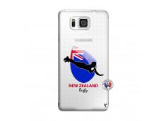 Coque Samsung Galaxy Alpha Coupe du Monde Rugby- Nouvelle Zélande