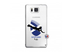 Coque Samsung Galaxy Alpha Coupe du Monde Rugby-Scotland
