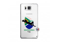 Coque Samsung Galaxy Alpha Coupe du Monde Rugby-South Africa