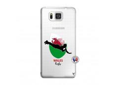Coque Samsung Galaxy Alpha Coupe du Monde Rugby-Walles