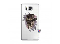 Coque Samsung Galaxy Alpha Dandy Skull
