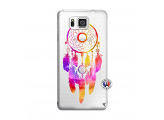 Coque Samsung Galaxy Alpha Dreamcatcher Rainbow Feathers