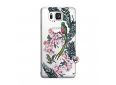 Coque Samsung Galaxy Alpha Flower Birds
