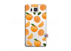 Coque Samsung Galaxy Alpha Orange Gina
