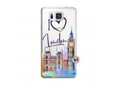 Coque Samsung Galaxy Alpha I Love London