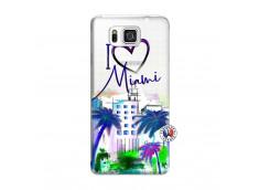 Coque Samsung Galaxy Alpha I Love Miami