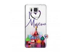 Coque Samsung Galaxy Alpha I Love Moscow