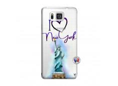 Coque Samsung Galaxy Alpha I Love New York