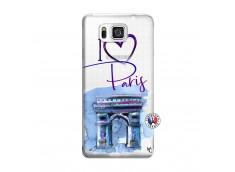 Coque Samsung Galaxy Alpha I Love Paris Arc Triomphe