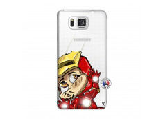 Coque Samsung Galaxy Alpha Iron Impact