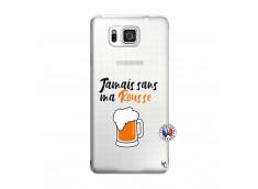 Coque Samsung Galaxy Alpha Jamais Sans Ma Rousse