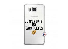 Coque Samsung Galaxy Alpha Je M En Bas Les Cacahuetes