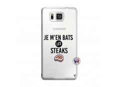 Coque Samsung Galaxy Alpha Je M En Bas Les Steaks