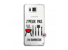 Coque Samsung Galaxy Alpha Je Peux Pas J Ai Barbecue