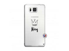 Coque Samsung Galaxy Alpha King