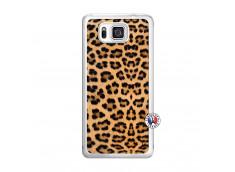 Coque Samsung Galaxy Alpha Leopard Style Translu