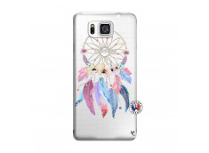 Coque Samsung Galaxy Alpha Multicolor Watercolor Floral Dreamcatcher