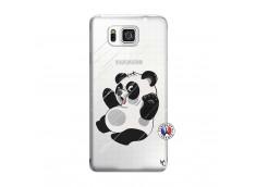 Coque Samsung Galaxy Alpha Panda Impact