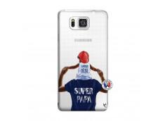 Coque Samsung Galaxy Alpha Papa Super Heros