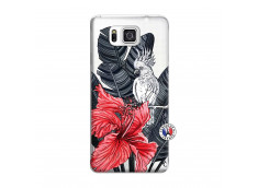 Coque Samsung Galaxy Alpha Papagal