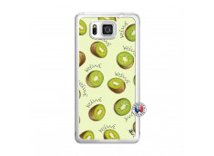 Coque Samsung Galaxy Alpha Sorbet Kiwi Translu