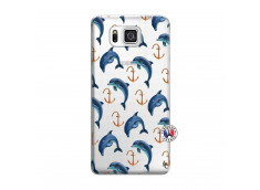 Coque Samsung Galaxy Alpha Dauphins