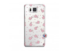 Coque Samsung Galaxy Alpha Petits Moutons