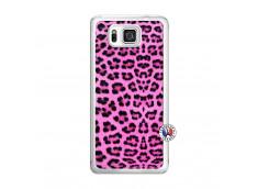 Coque Samsung Galaxy Alpha Pink Leopard Translu