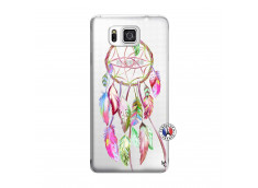 Coque Samsung Galaxy Alpha Pink Painted Dreamcatcher