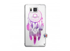 Coque Samsung Galaxy Alpha Purple Dreamcatcher
