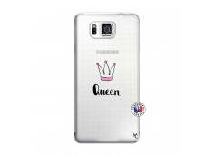 Coque Samsung Galaxy Alpha Queen