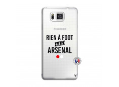 Coque Samsung Galaxy Alpha Rien A Foot Allez Arsenal