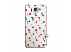 Coque Samsung Galaxy Alpha Rose Pattern