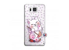 Coque Samsung Galaxy Alpha Smoothie Cat