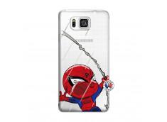 Coque Samsung Galaxy Alpha Spider Impact