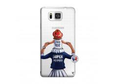 Coque Samsung Galaxy Alpha Super Maman Et Super Bébé
