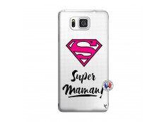 Coque Samsung Galaxy Alpha Super Maman