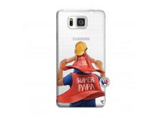 Coque Samsung Galaxy Alpha Super Papa et Super Bébé