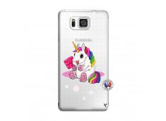 Coque Samsung Galaxy Alpha Sweet Baby Licorne