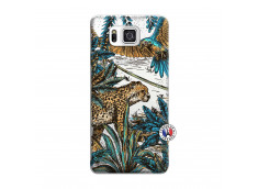 Coque Samsung Galaxy Alpha Leopard Jungle