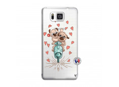 Coque Samsung Galaxy Alpha Puppies Love