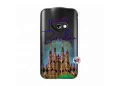 Coque Samsung Galaxy Beam I Love Barcelona