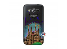 Coque Samsung Galaxy Core 4G I Love Barcelona