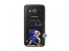 Coque Samsung Galaxy Core 4G Je peux pas j'ai Judo
