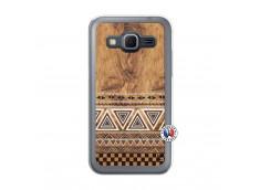 Coque Samsung Galaxy Core Prime Aztec Deco Translu