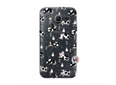 Coque Samsung Galaxy Core Prime Cow Pattern