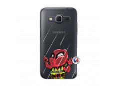 Coque Samsung Galaxy Core Prime Dead Gilet Jaune Impact