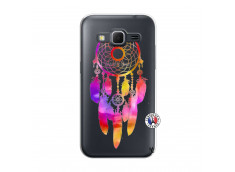 Coque Samsung Galaxy Core Prime Dreamcatcher Rainbow Feathers